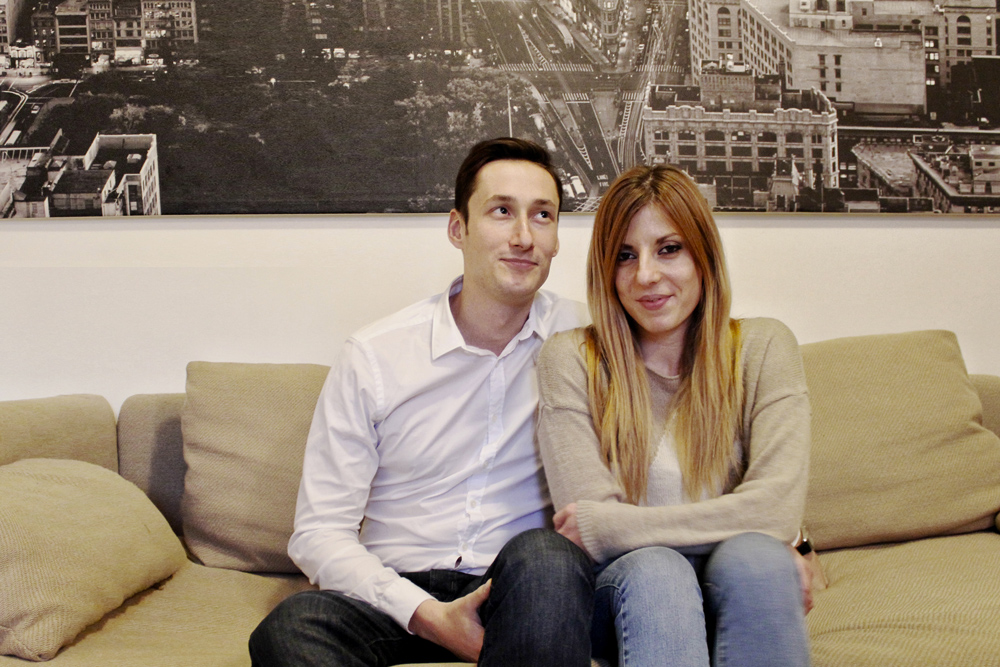 Matteo e Chiara ospiti della Domenica da Cla